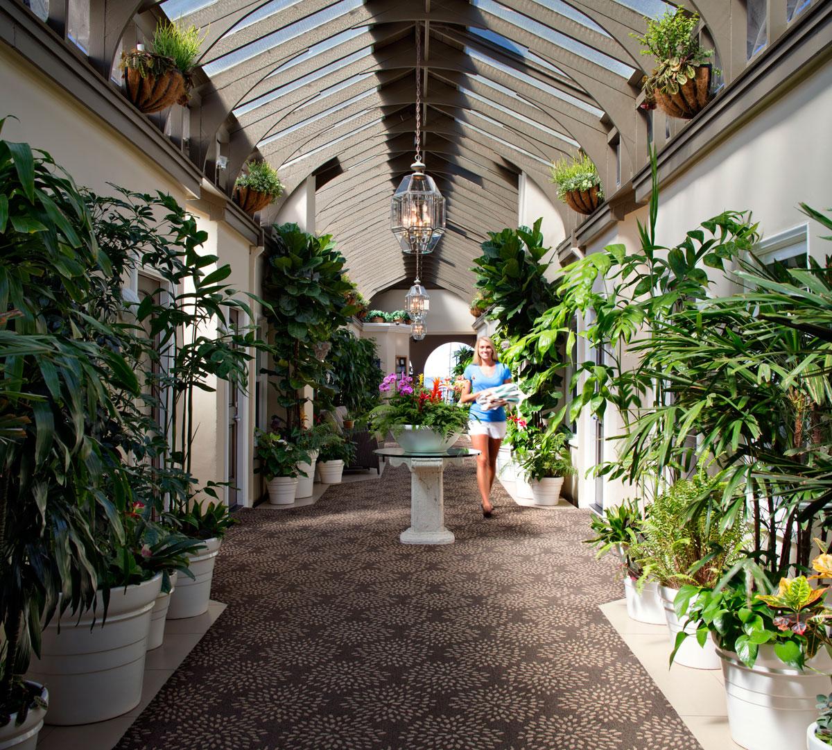 Atrium Courtyard Hotel Vista Del Mar