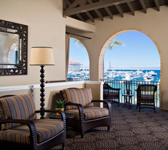 Hotel Lobby Ocean View - Catalina Island