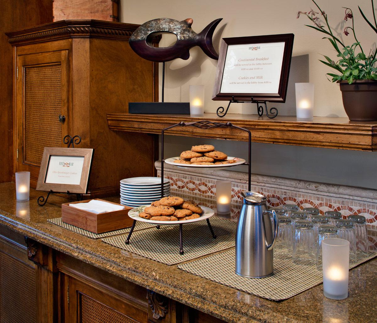 Hotel Vista Del Mar Milk & Cookies